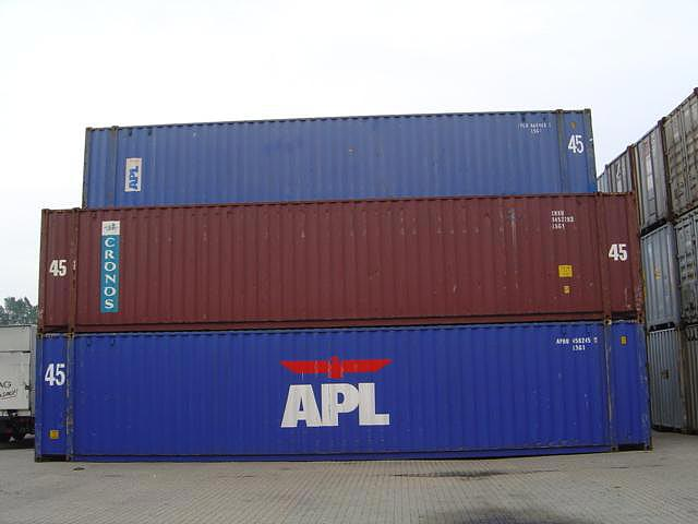 45 Foot Dry Van Container Photo Gallery