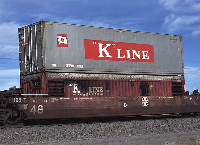 "Image result for ""K"" line train containers"