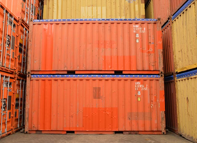 AWM SZ 45 ft Container open side Codognotto