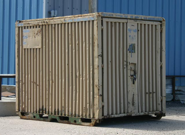 Image gallery military conex - Matson container homes ...